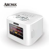 【美國最新款】美國 AROMA 四層溫控乾果機 果乾機 食物乾燥機 烘乾機 附彩色食譜 AFD-310