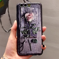 New OPPO R15 pro case creative retro rose 3D embossed painted soft shell oppo R9 R9s R11 R11s Plus p