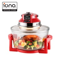 Iona GLTB112 - 12L Halogen Grill Oven - Cooks 3x faster than oven.