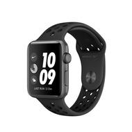 Apple 台灣原廠 WATCH Nike+Series3 gps 42MM版 太空灰鋁金屬