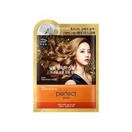 韓國 Mise en scene急救焗油護髮蒸氣髮膜(玫瑰精華)35ml  附護髮帽