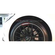 輪圈 輪胎 鋁圈標 電鍍 金屬 鋁製 賓士 Benz AMG W204 W205 W176 CLA GLC 45 63