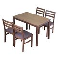 RICHOME日式餐桌椅組(1桌4椅)