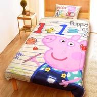 【小如的店】COSTCO好市多線上代購~舒柔水洗被-佩佩豬 Peppa Pig(150x200公分)