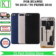 Back Housing For Huawei Y6 2018 / Y6 Prime 2018 Battery Cover Door Case
