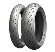 沒有米許林MICHELIN 708140道路5 ROAD 5後部150/70徑向輪胎17英寸M/C(69W)管子的輪胎米許林708140 bike-man
