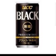 🌈全家小舖🌈UCC BLACK 無糖黑咖啡 鋁罐裝 185g 【限量優惠價】30入/箱