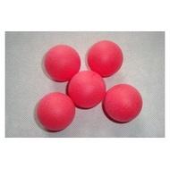 【甜姐兒批發】40mm 遊戲/摸彩/摸獎/繪畫/喜宴 打磨紅色乒乓球/桌球/塑膠球  6元100顆500元