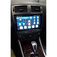LEXUS IS250 10吋專用平面/電容屏安卓主機 可WIFI上網 內建導航 藍芽