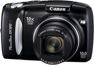 Kamera Digital Canon Powershots SX120IS 10MP, Bekas Kamera Digital dengan 10x Gambar Optik Zoom Stabil dan LCD 3 Inci
