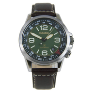 SEIKO | นาฬิกาข้อมือควอทซ์สายหนัง Prospex Automatic รุ่น SRPA77K1