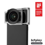 bitplay ALLCLIP 通用機身鏡頭夾+HD高階廣角鏡頭 專業玩家組合(iPhone & Android 手機皆適用)