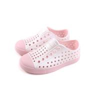 native JEFFERSON METALLIC 懶人鞋 洞洞鞋 粉紅色 小童 童鞋 13100117-5958 no915