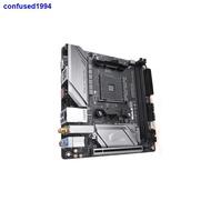(現貨)♦♘☑技嘉 B450 I AORUS PRO WIFI 臺式機電腦游戲主機板 AM4接口迷你板