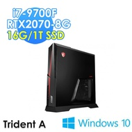 msi微星 Trident A 9SD-618TW 電競桌機 i7-9700F/16G/1TSSD/RTX2070-8G