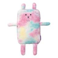 【CRAFTHOLIC 宇宙人】星光復古兔造型毛毯(復古設計款)