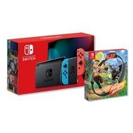 Nintendo Switch 紅藍主機+NS健身環大冒險