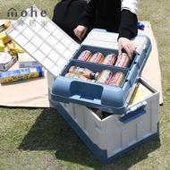 【木暉居家】加厚高承重大容量萬用折疊收納箱(立體中款)