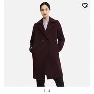 """全新""""降價"""" UNIQLO羊毛混紡大衣"""
