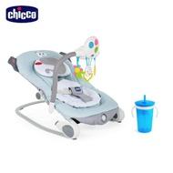 【Chicco】Balloon安撫搖椅探險版+二合一零食吸管防漏杯