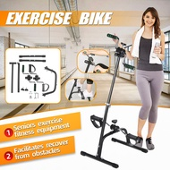 Collapsible Elderly Indoor Fitness Equipment Exercise Bike Portable Rehabilitation Bicycle Arm and Leg/ Feet Cycling Equipment