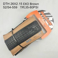 Maxxis DTH Retro Beige Folding Bicycle Tire 26 26*2.3 26*2.15 Mtb Street Bike Tires Fixed Gear Cycling Dth Non Folding Wire Tire