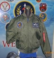 台灣製 空軍 飛行夾克 MA1 防火飛夾 雙面穿 JU-MA1