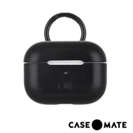 【CASE-MATE】AirPods Pro 真皮皮革保護殼(黑色 贈掛環)