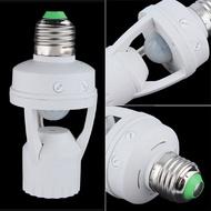 【全館免運】E27螺口感應燈座 E27螺口感應燈座 LED感應開關燈 E27感應燈 紅外線人體感應燈頭clickstorevip
