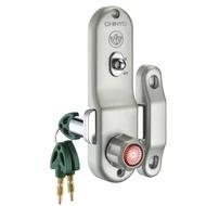 647 青葉牌 鋁門鎖 700型鋁門鉤鎖 AT鑰匙 十字型鑰匙 三代 鎖心長38mm 鋁門平鎖(落地門鎖 推拉門鎖)