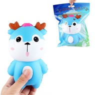 Deer Squishy 15*9CM Soft Slow Rising With Packaging Collection Gift Toy