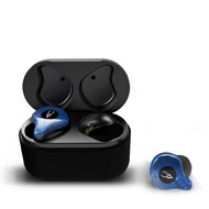StrFlowers BT 5.0 Wireless Earphones Earbuds, Mini In-Ear Earbuds with Charging Case, Built-in Microphone Stereo Headphones for iPhone, Samsung, iPad, Android