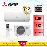 (R32 INVERTER) Original Mitsubishi 1HP / 1.5HP / 2HP / 2.5HP Wall Air Conditioner - Mr Slim Aircond