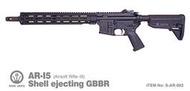 武SHOW Rare Arms AR-I5 CO2槍 14.5吋 拋殼 GBBR ( 跳殼BB槍BB彈M4步槍M16