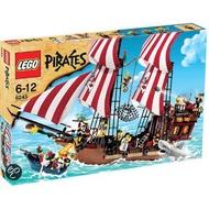 【樂GO】絕版品 樂高 LEGO 6243 Brickbeard's Bounty 紅鬍子海盜船 海盜船 原廠正版