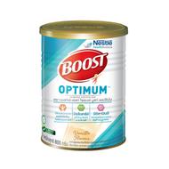 Boost Optimum Vanilla 800g บูสท์ ออปติมัม กลิ่นวานิลลา อาหารเสริมและเวย์โปรตีนที่จำเป็น สำหรับผู้สูงอายุ 800กรัม (Exp:20/06/2022)