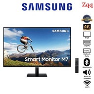 Zqq-Samsung Smart Monitor M7 32 S32AM700UE LS32AM700UEXXS UHD 8MS 60HZ WIFI BLUETOOTH BUILT-IN SPEAKER VA Monitor