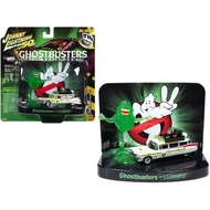 Johnny Lightning Ghostbusters 1/64 Scale 1959 Cadillac Ecto-1A Ambulance (Slimed) & Slimer Figure