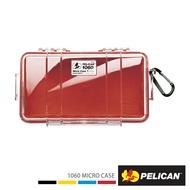 PELICAN 1060 Micro Case 微型防水氣密箱-透明(紅)公司貨