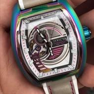 INVICTA  瑞士英威塔 彩鈦機械錶