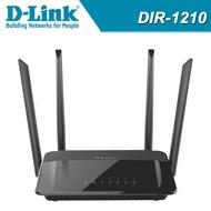 D-Link 友訊 DIR-1210_AC1200 MU-MIMO 雙頻電競 雙頻網路寬頻 WIFI路由器 分享器