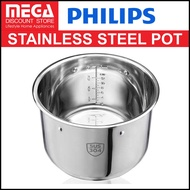 PHILIPS HD2778 STAINLESS STEEL INNER POT FOR HD2137, HD2237, HD2178, HD2145.