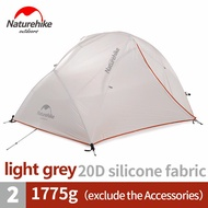 Naturehike Tent Upgraded Star River Camping Tent Ultralight 2 Person 4 Season 20D Silicone Camp Tent Tourist Tents With
