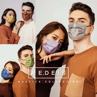 Hong Kong Medeis color mask purchase Level 3 gradient color Moran summer breathable protection virus