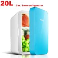 20L Mini Portable Cooler & Warmer Fridge Car/Home Use Mini Refrigerator