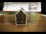 帕阿贊誒-佛歷2562年黑肉 &正面金符管&背面銀符管 (2號)/59靈 590 坤平 阿贊炳 千靈