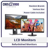 """[Refurbished Monitor] 17"""" 18"""" 19"""" 20"""" 22"""" 23"""" Dell HP Lenovo Acer Samsung Only"""