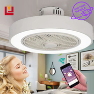 B&B led light with remote control ceiling fan light bedroom ceiling fan cove light for ceiling 220v chandelier living room led tube light