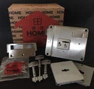 安住HOME 988 小安住 附3支原廠葉片式伸縮鑰匙 不銹鋼五段鎖 鐵門鎖 台灣製造