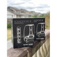 賓士哥3C【福利品專賣店】(可連藍牙)Harman Kardon SoundSticks III 水晶水母喇叭3代/4代 MP3